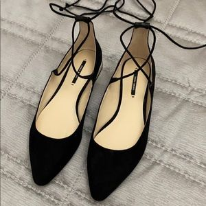 Ankle straps shoes